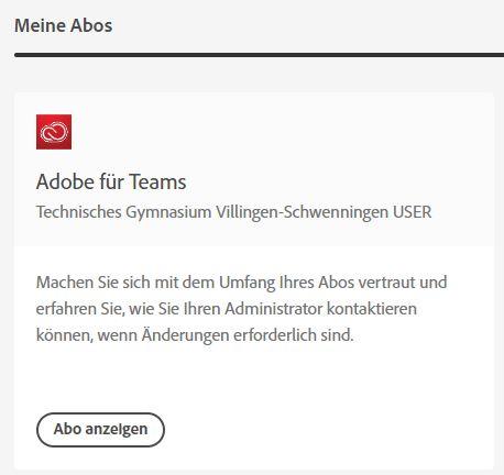 Adobe Abo