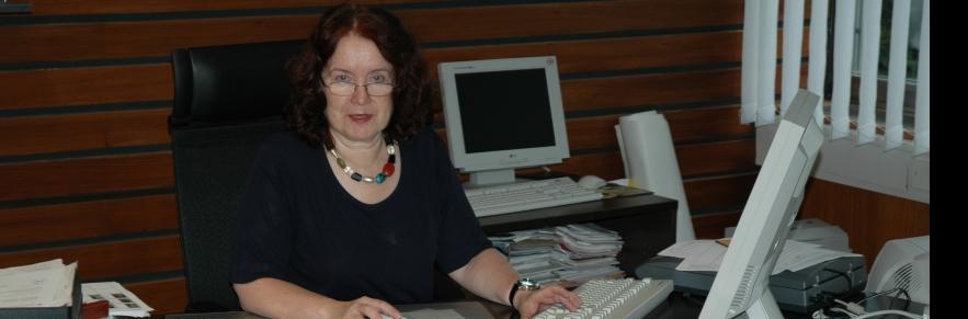 Im Jahr 2005: Conradt am Schreibtisch