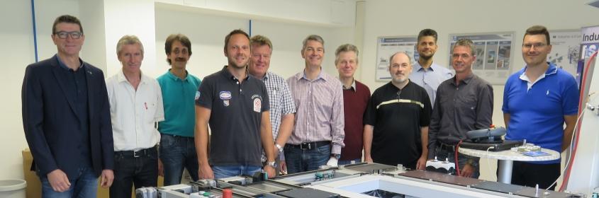 Projektgruppe Lernfabrik Industrie 4.0