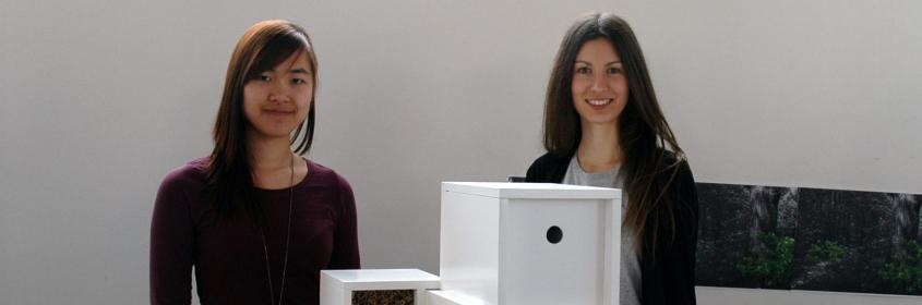 Vogelhaus-Ausstellung Wasana Schmidt/Fabienne Forgács