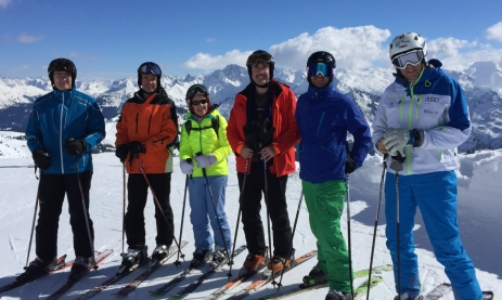 Skitag in Mellau-Damüls