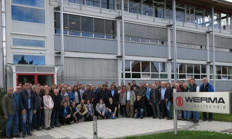 Die Lehrer der FTS besuchen die Firma Werma