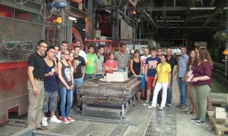 Umwelttechnikklasse in Aluwerken