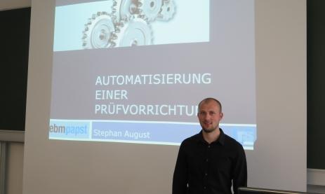 Beispiel einer Präsentation 2015