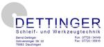 Dettinger Schleif- und Werkzeugtechnik