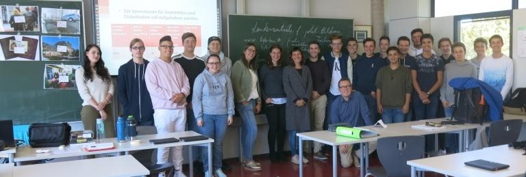 Die TGEI mit LpB Team und den Lehrern Annette Beha und Johann Weniger