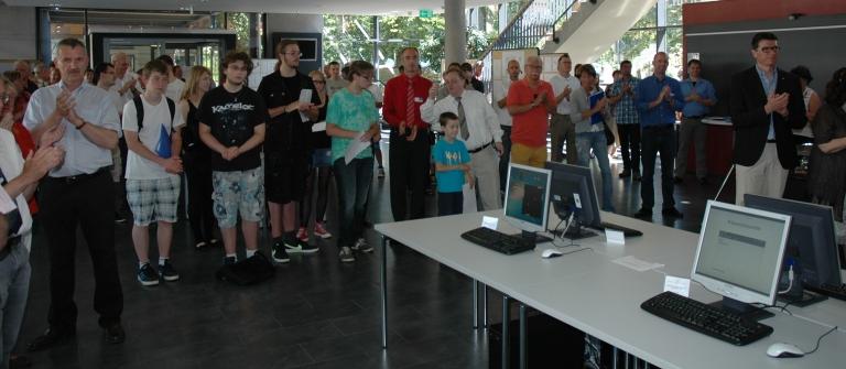 Eröffnung der Ausstellung der Abschlussarbeiten