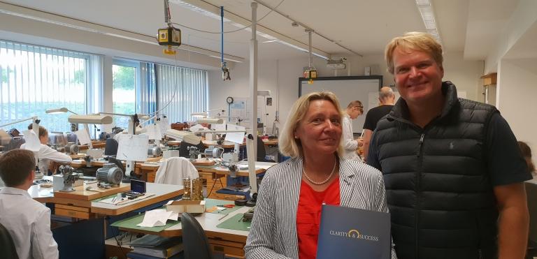 Gabriele Hertrich zusammen mit Florian Henkel