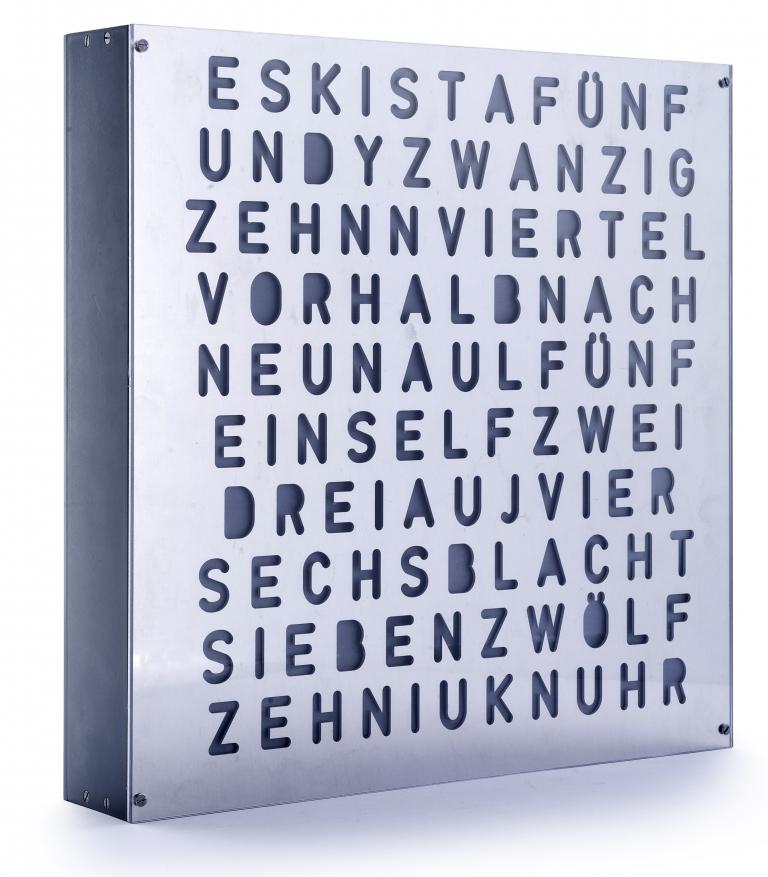 Kevin Rodin: Wort-Uhr (Systemelektroniker)