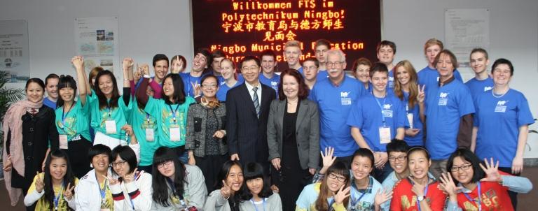 Besuch der FTS-Schüler in China